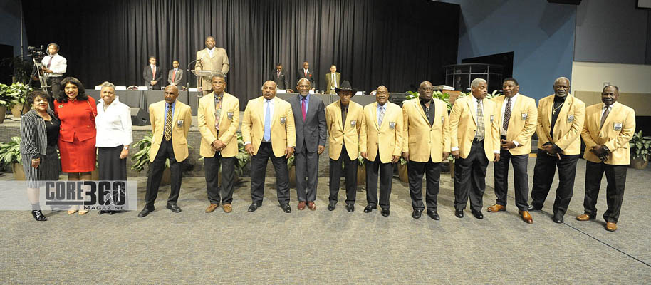Members of the NFL Hall of Fame from Historically Black Colleges and Universities receive acknowledgement during the 12th Annual Johnnie L. Cochran, Jr. Salute to Excellence Awards in Houston, Texas during Super Bowl LI Week.