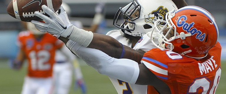 Gators outlast Pirates in Birmingham Bowl