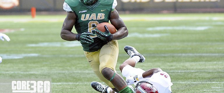 UAB rushes to win over Troy