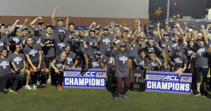 VA Tech Hokies sweep ACC Outdoor Track and Field Championships