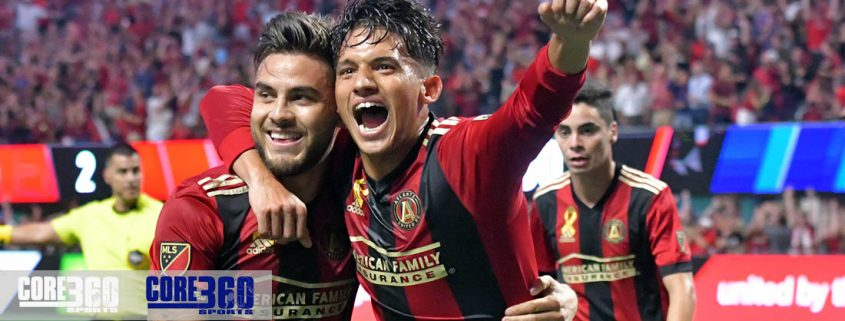 Atlanta United runs its streak to 4 with a 4-0 win over LA Galaxy.