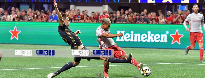 Atlanta United franchise complete a six-game home-stand with a 3-0 win over the Philadelphia Union at Atlanta Mercedes Benz Stadium Wednesday evening.