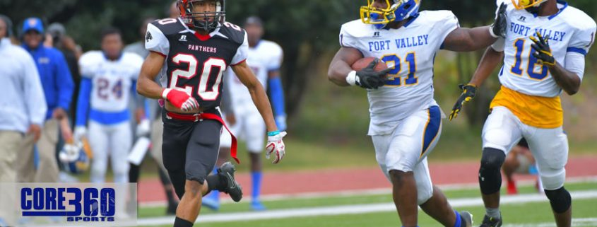 Loren Smothers scored 2 TDs to propel Fort Valley State Wildcats to a 41-24 win over Clark Atlanta.