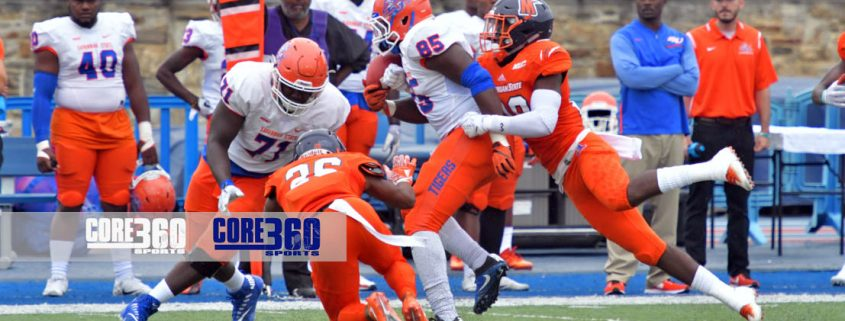 Morgan State Bears defeated Savannah State Orange Tigers 48-28.