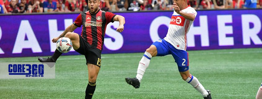 Atlanta United and Toronto FC battled to a 2-2 tie in the regular season finale.