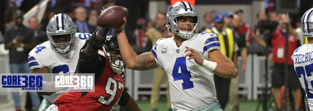 The Atlanta Falcons defeated the visiting Dallas Cowboys 27-7 at Atlanta Mercedes Benz Stadium on Sunday.