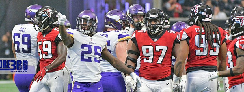 The Minnesota Vikings two touchdowns was enough to defeat the Atlanta Falcons 14-9 at Atlanta Mercedes Benz Stadium on Sunday.